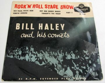 Bill Haley And His Comets ROCK 'N' ROLL STAGE SHOW PT3  1956 UK EX+ AUDIO